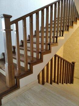 Лестницы и элементы лестниц - Лестница из дерева, 0