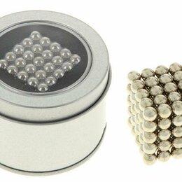 Головоломки - Головоломка Антистресс Неокуб серебряный, 125 шариков d=0,6 см, 0