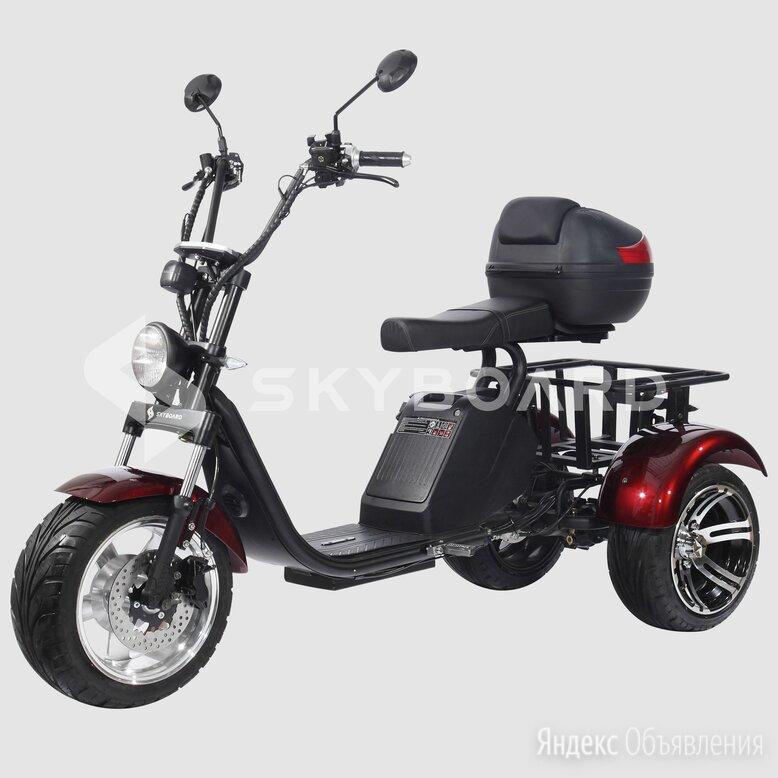 Электроскутер Citycoco SKYBOARD Trike BR80 по цене 149900₽ - Самокаты, фото 0