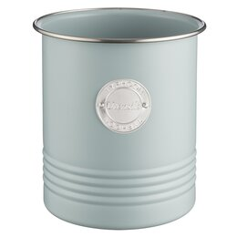 Ёмкости для хранения - Банка с крышкой круглая 15 см голубая Living, 0