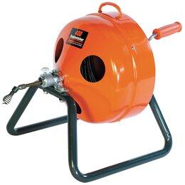 Инструменты для прочистки труб - Ручная прочистная машинка для труб 40 -100 мм…, 0