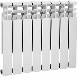 Радиаторы - Радиатор биметаллический  UNITECH 500*80 -10 секций , 0