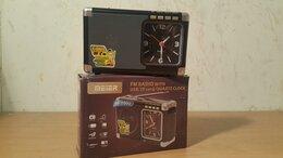 Радиоприемники - Радиоприемник meier M-200U + USB/micro SD + часы, 0