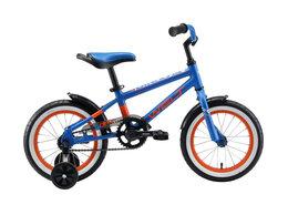 """Велосипеды - Велосипед WELT Dingo 14"""" (2020) (синий-оранжевый), 0"""
