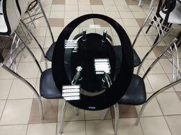 Столы и столики - Стол стеклянный (Черный), 0