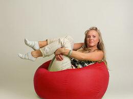 Кресла-мешки - Бескаркасное кресло-мешок Шар Красное, 0