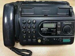 Факсы - Факс Panasonic KX-FT21, 0