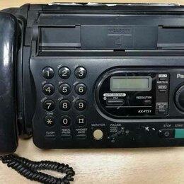 Системные телефоны - Факс Panasonic KX-FT21, 0