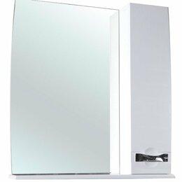 Полки, стойки, этажерки - Зеркало-шкаф Bellezza Абрис 65 R белый, 0