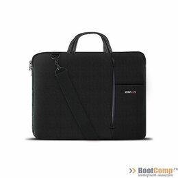 Аксессуары и запчасти для ноутбуков - Сумка для ноутбука CROWN CMB-436 Black 15.6, 0