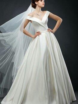 Платья - Пышное атласное свадебное платье Дива, 0
