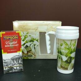 Термосы и термокружки - Термокружка для чая/кофе + чай, 0