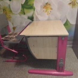 Компьютерные и письменные столы - Регулируемая парта со стулом, 0