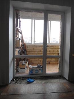 Окна - Окна, витринный стеклопакет выход на лоджий, 0