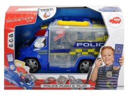 Игровые наборы и фигурки - Машинка - чемоданчик полиция, 33см dickie, 0