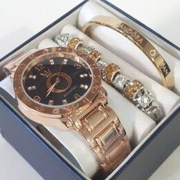 Наручные часы - Женский подарочный набор 3 в 1, 0