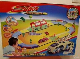 Детские железные дороги - Железная дорога р/у Super Racetrack - новая, 0