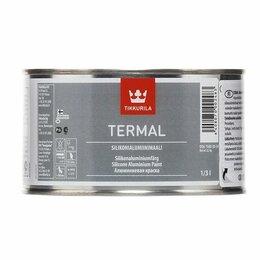 Краски - Краска термостойкая TERMAL SILIKONIALUMIINIMAALI…, 0