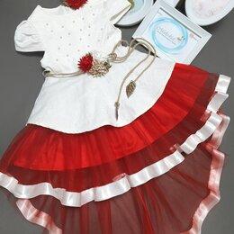 Платья и сарафаны - Платье новое ассиметричный низ. 98см, 0