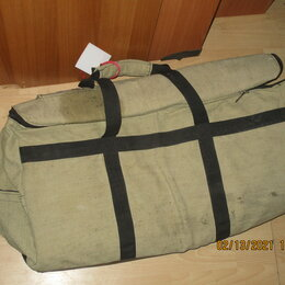 Рюкзаки - Сумка баул брезент 2 шт, 0