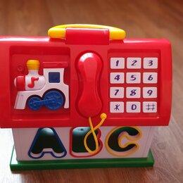Развивающие игрушки - Сортер обучающий домик, 0