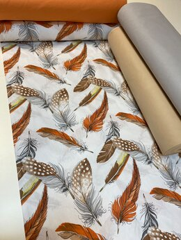 Ткани - Ткань поплин шир.240см Турция , 0