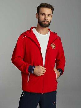 Спортивные костюмы - Мужские спортивные костюмы Россия красные (46-62), 0