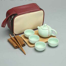 Кружки, блюдца и пары - Набор для китайской чайной церемонии новый, 0