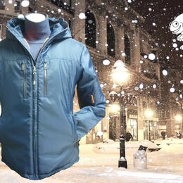 Куртки - Двухсторонняя Зимняя мужская куртка, 0