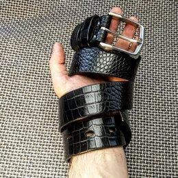 Ремни, пояса и подтяжки - Ремень из натуральной кожи. Ручная работа., 0