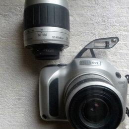 Пленочные фотоаппараты - Пленочный Nikon APS с 2 объективами, 0