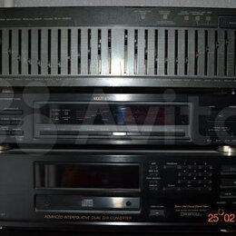 Музыкальные центры,  магнитофоны, магнитолы - графический эквалайзер Akai EA-G90/100v, 0