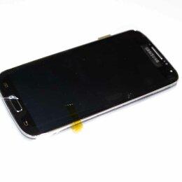 Дисплеи и тачскрины - Дисплей Samsung i9505 Galaxy S4 в сборе с сенсором, ориг черный, 0