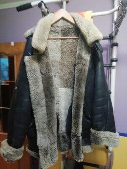 Дубленки и шубы - Куртка-пилот зимняя, 0