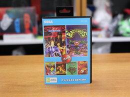 Игры для приставок и ПК - Картридж Sega AA-6106 6в1 (Bare Knuckle 3, Rambo…, 0
