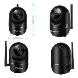 Камеры видеонаблюдения - Камера видеонаблюдения 2 Mp (FHD), пишет на карту, 0
