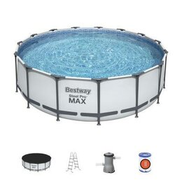 Бассейны - 56438 Bestway Каркасный бассейн Steel Pro Max…, 0