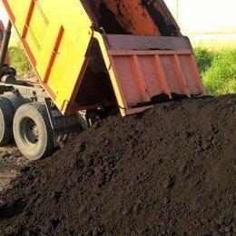 Субстраты, грунты, мульча - Чернозем, Грунт, Плодородная земля - доставка КАМАЗ, 0