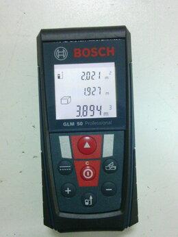 Измерительные инструменты и приборы - Лазерный дальномер Bosch GLM50/GLM80, 0