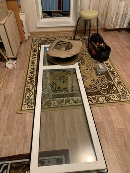 Окна - Замена уплотнителя в балконной двери ПВХ, 0