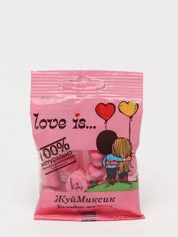 Подарочные наборы - Мармелад Love is жевательный 24 пакетика в блоке…, 0