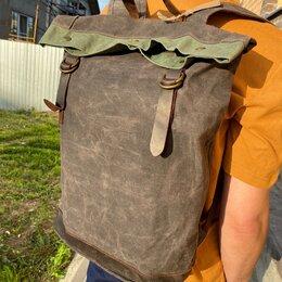 Рюкзаки - Рюкзак новый вощеный, 0
