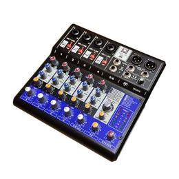 Микшерные пульты - GrandVox MC-06X USB Микшерный пульт аналоговый, каналы: 4 микрофонных универ..., 0