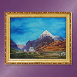 Картины, постеры, гобелены, панно - Священная гора Кайлас - великий Тибет, 0