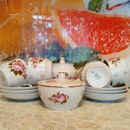 Сервизы и наборы - Чайный сервиз, 14 предметов, Вербилки, 0