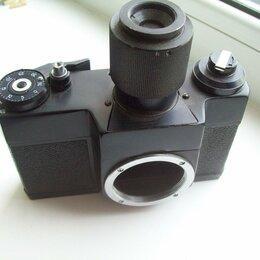 Пленочные фотоаппараты - Фотоаппарат ЗЕНИТ -лабораторный(плёнка)шахта сверху, 0