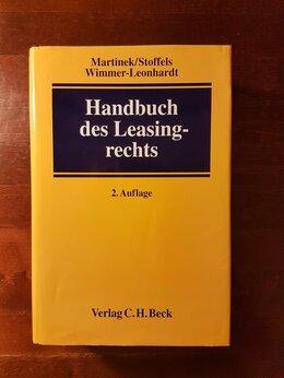 Юридическая литература - Лизинговое право Leasingrecht на немецком языке, 0