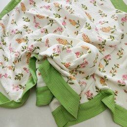 Покрывала, подушки, одеяла - Муслиновый плед, 0