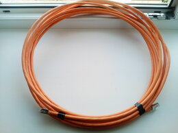 Кабели и разъемы - Кабель сетевой 10 метров экранированный cat6А, 0