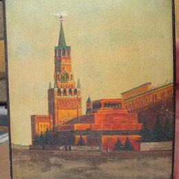 Шкатулки - шкатулка Москва,Кремль,Красная Площадь, 1950е годы, 0